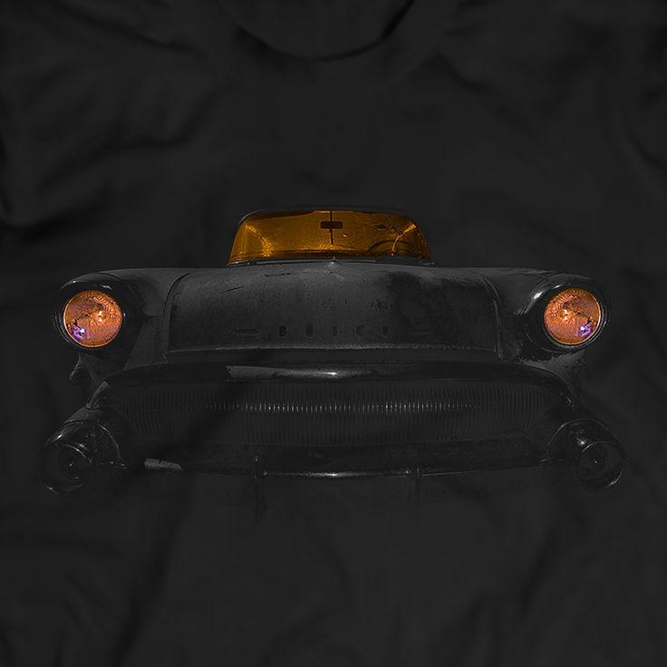 1957 Buick Century Wagon T-Shirt Herren Geschenkidee 100% Baumwolle