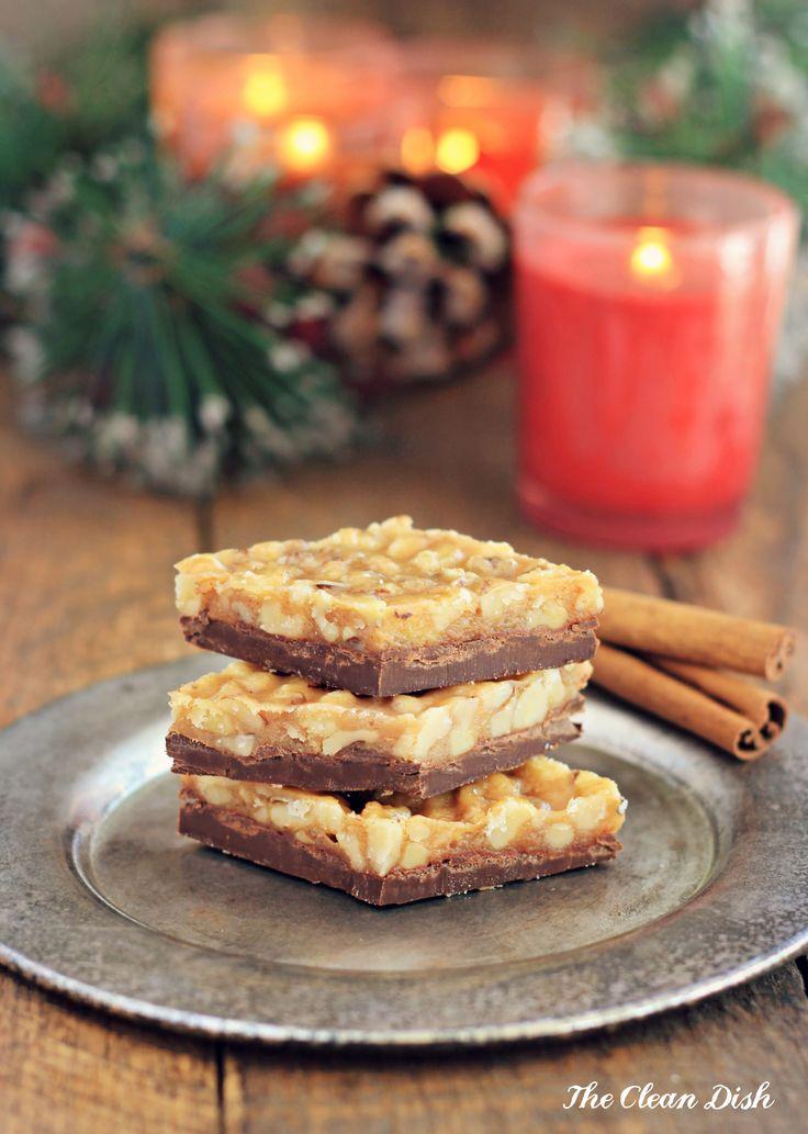 Walnut Cinnamon Florentine Cookies {grain free, gluten free, dairy-free}