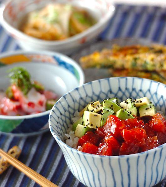 「マグロの漬け丼」の献立・レシピ - 【E・レシピ】料理のプロが作る簡単レシピ/2009.08.30公開の献立です。
