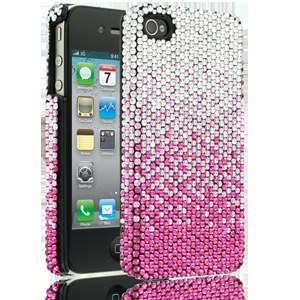 Elle & Blair Summer Glow Case for Apple iPhone 4/4S - Silver (Click for Product Details) So cute it hurts!