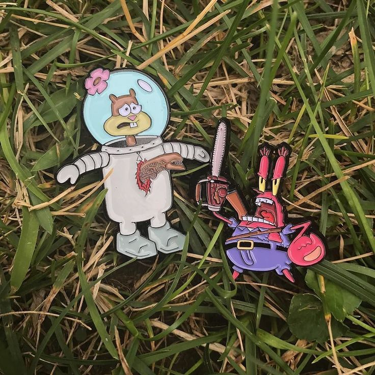 Repost @eljefepins  El Jefe Double Pin Drop!! Two new additions to our spongebob horror film crossover series are now available in our shop and only about 10 of the previous ones remain so snag them quick! These pins will go quick!  eljefebrand.com    (Posted by https://bbllowwnn.com/) Tap the photo for purchase info.  Follow @bbllowwnn on Instagram for the best pins & patches!