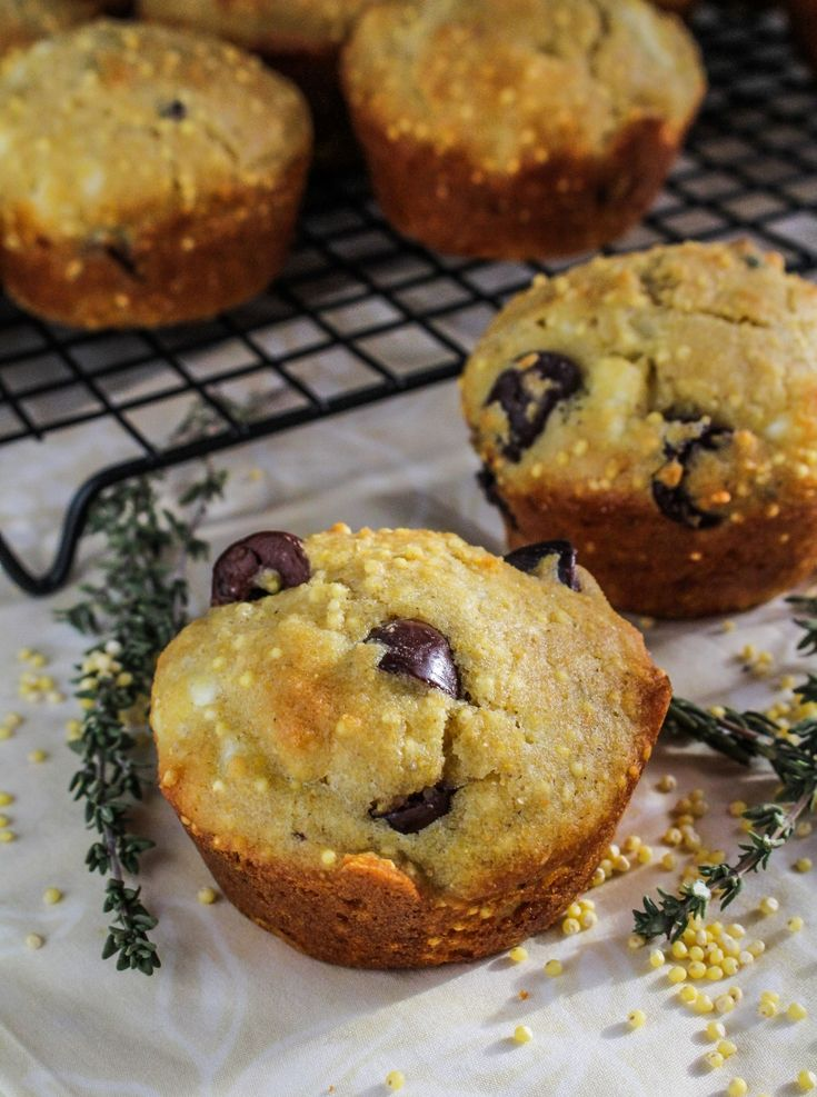 Gluten free olive and feta corn muffins