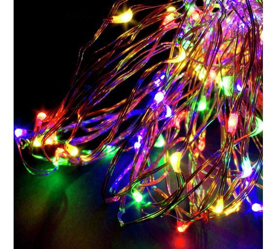 Buy Christmas Workshop 300 LED Copper Wire Lights  Multicoloured At  Argos.co.uk
