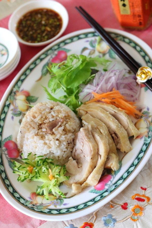 スイッチ1つで作る海南鶏飯 by 小春ちゃん   レシピサイト「Nadia ... スイッチ1つで作る海南鶏飯