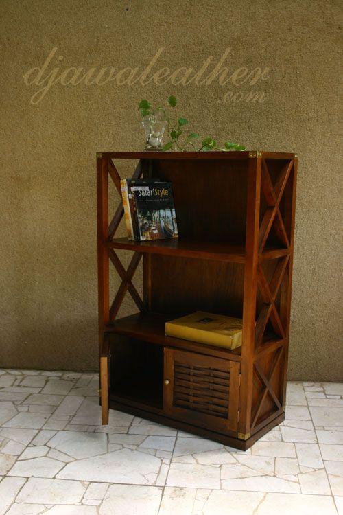 Alodie Mahogany Bookcase.