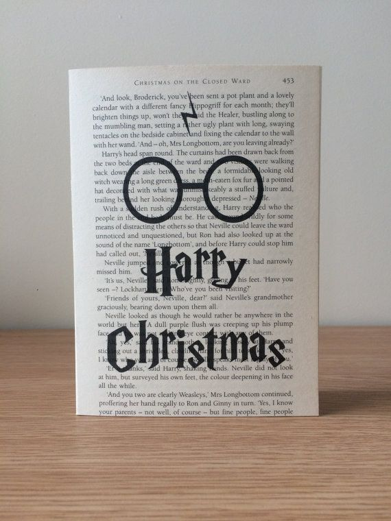 "This perfect pun. | 17 Holiday Cards Every ""Harry Potter"" Fan Wants To Receive"
