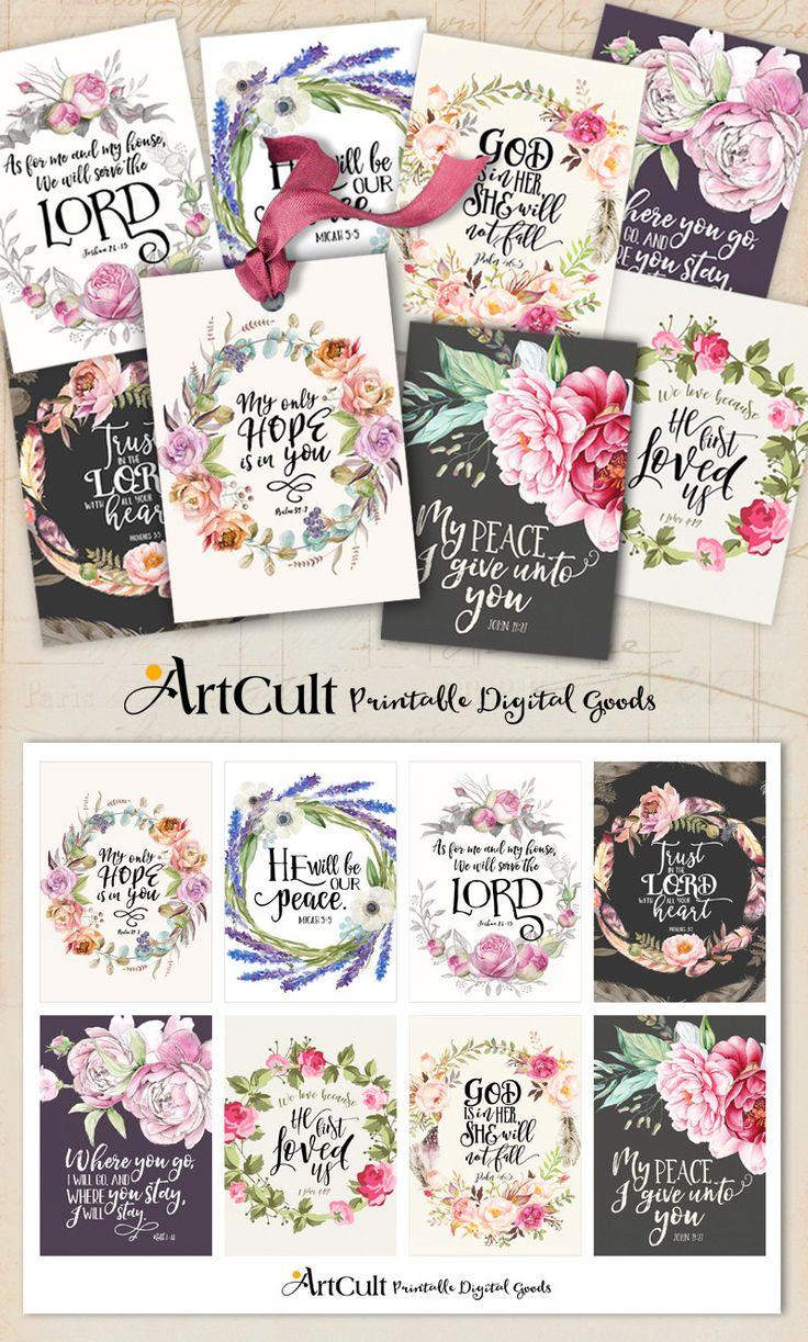 66 Best Printable Bible Verses Scripture Art Spiritual Quotes