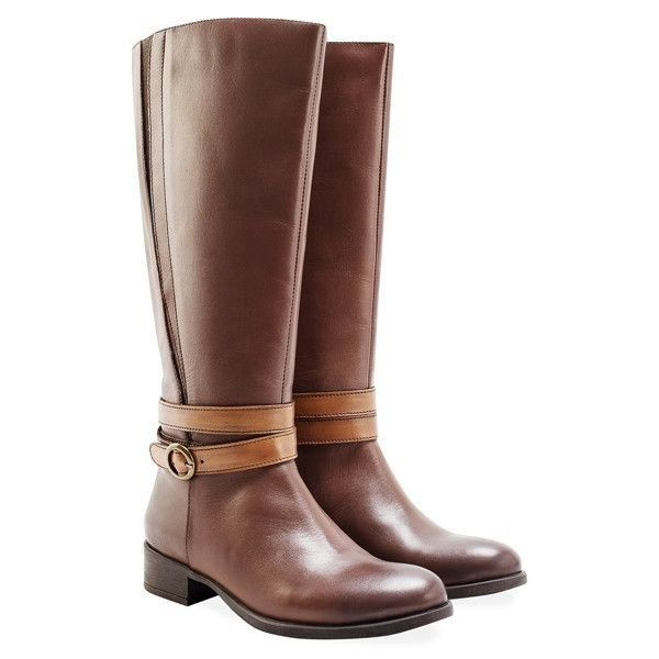 Redfoot Eden Brown Knee High Boots Brown knee high boots with concealed panel detail. Quality leather upper that has been hand burnished for subtle detail, complimented by double strap and buckle decoration and innovative twin elastic panel technology. £89.99 Order yours > http://www.kindredsole.com/designers/redfoot-shoes/redfoot-eden-brown-knee-high-boots.html