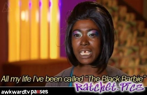 Ratchet. All my life ive been called the black barie ...