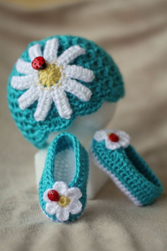 Crochet Baby Hat by TheBabyCrow