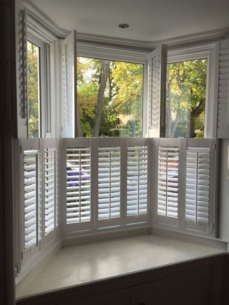 15 Best Shutters For Bay Windows Images On Pinterest Bay