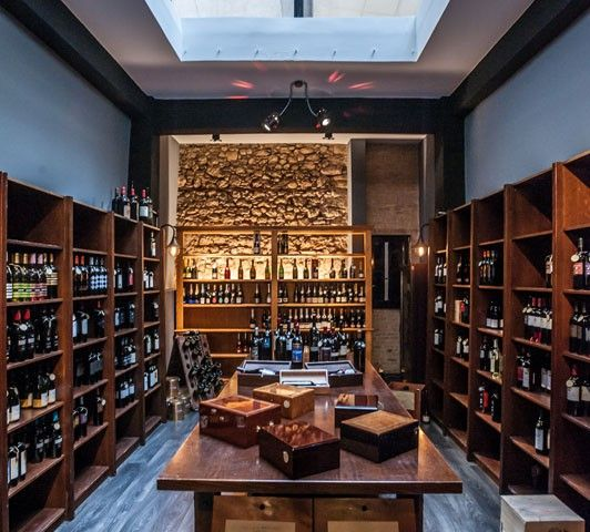 Wines and more at Panias in Metropoleos Street