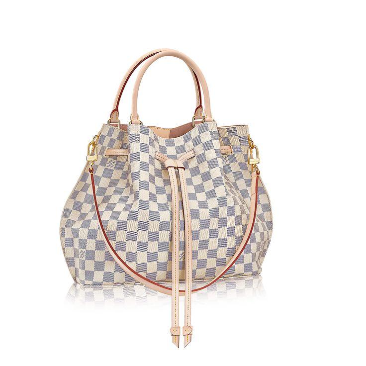 LOUIS VUITTON® Girolata Damier Azur Canvas – Top Handles Handbags