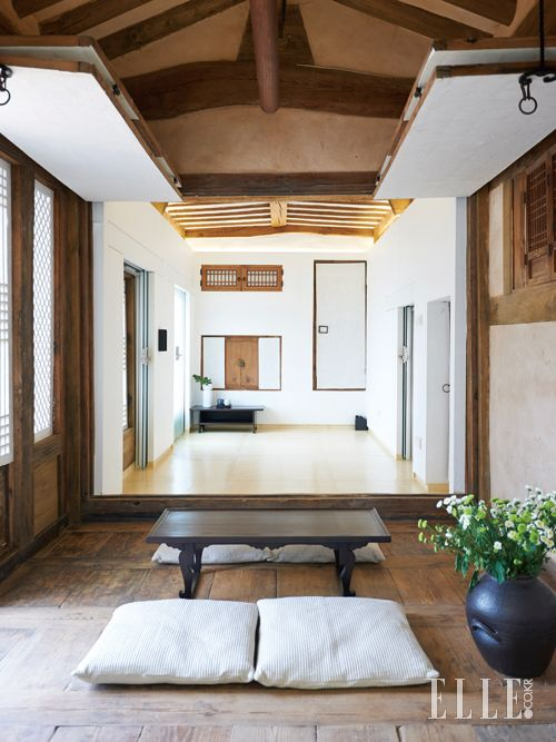 Refurbished 185 Year Old Traditional Housing Used As A Hotel Andong City North Gyeongsang Province South Korea