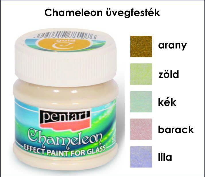 Üvegfesték - Chameleon 50 ml Pentart