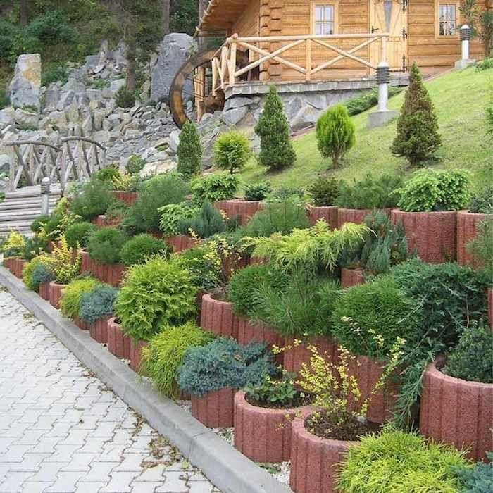 42 Ideen Zum Thema Tolle Pflanzsteine Fur Ihren Eigenen Garten Inspirierende Ideen Zum Thema Garten Gestalten Garten Gestalten Gartengestaltung Pflanzstein