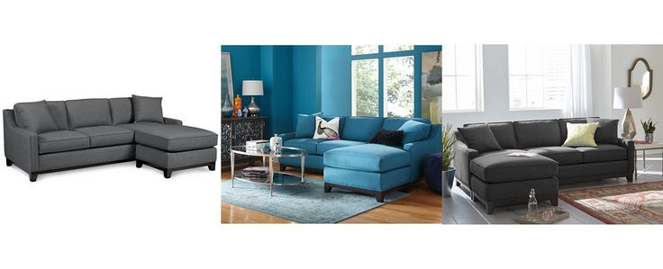 Oltre 1000 immagini su apartment homestead su pinterest for Keegan fabric 2 piece sectional sofa peacock