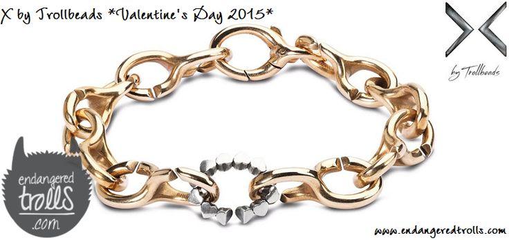 X by Trollbeads Valentine's Day 2015