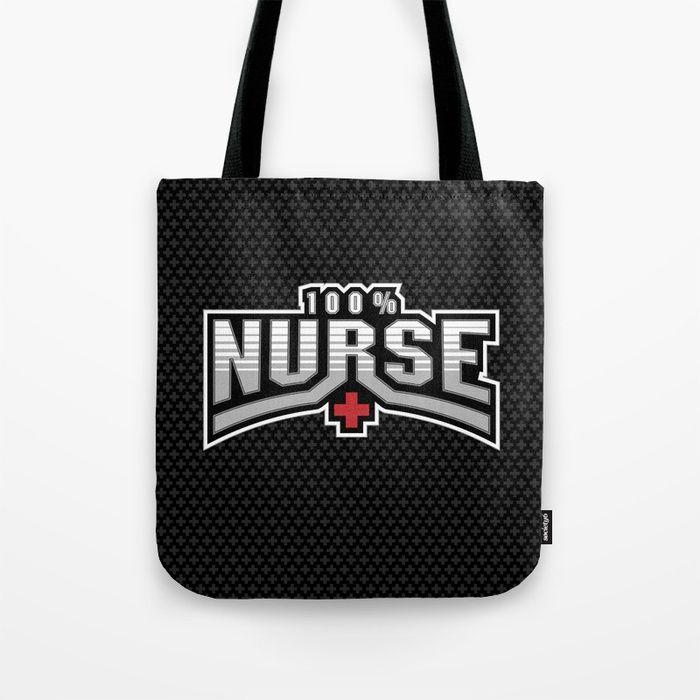 All Nurse Tote Bag