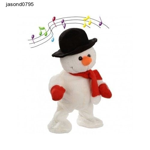 Singing Christmas Decorations: Dancing Snowman Christmas Decoration Singing Dancing Santa