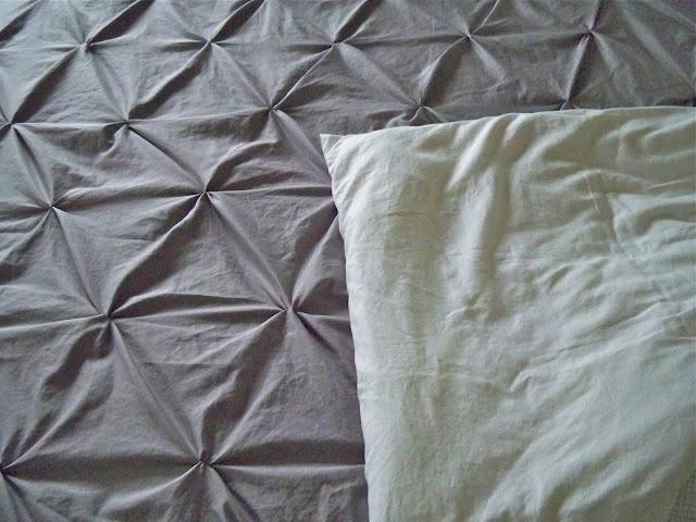 homemade duvet cover from sheets