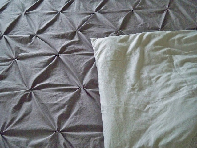 homemade duvet cover from sheets @Shanna Freedman Freedman Perlberg