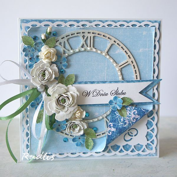 Card Making Ideas With Flowers Part - 28: Wedding Card - Scrapbook.com · Wedding IdeasCard WeddingFlower CardsCraft  ...