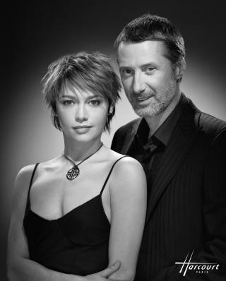 Emma et Antoine de Caunes (2005) - Harcourt Studio