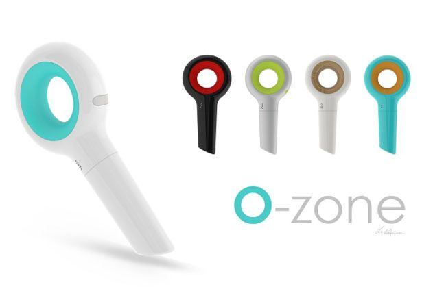 O-Zone Handheld Vacuum Cleaner Design for Hard-To-Reach Areas