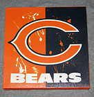 Chicago Bears Canvas Wall Art Design 3 C...