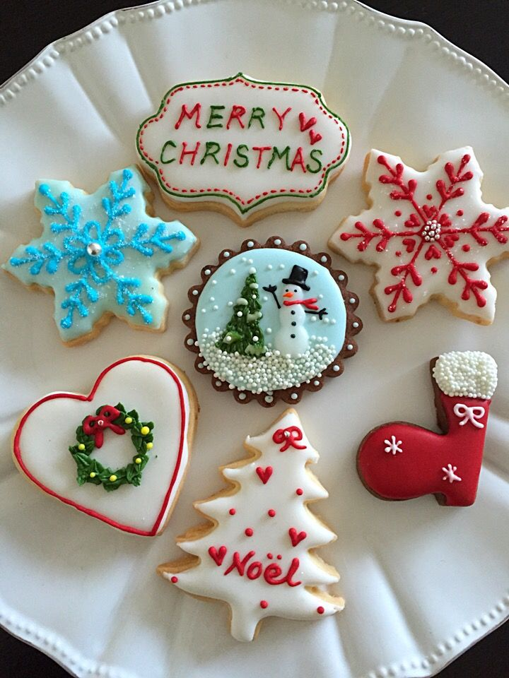 クリスマスアイシングクッキー