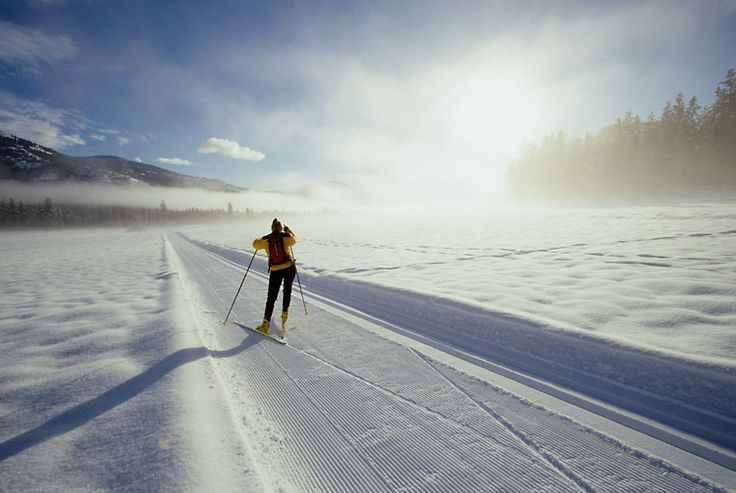 Largest groomed Nordic Ski Trail system in North America + Backcountry Skiing + Charming Town