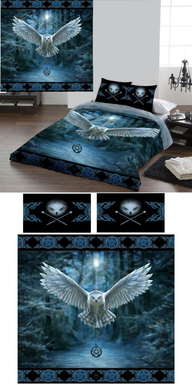 Anne Stokes Awaken Your Magic Double Duvet Cover Set  - £69.99 : FROM ANGEL CLOTHING