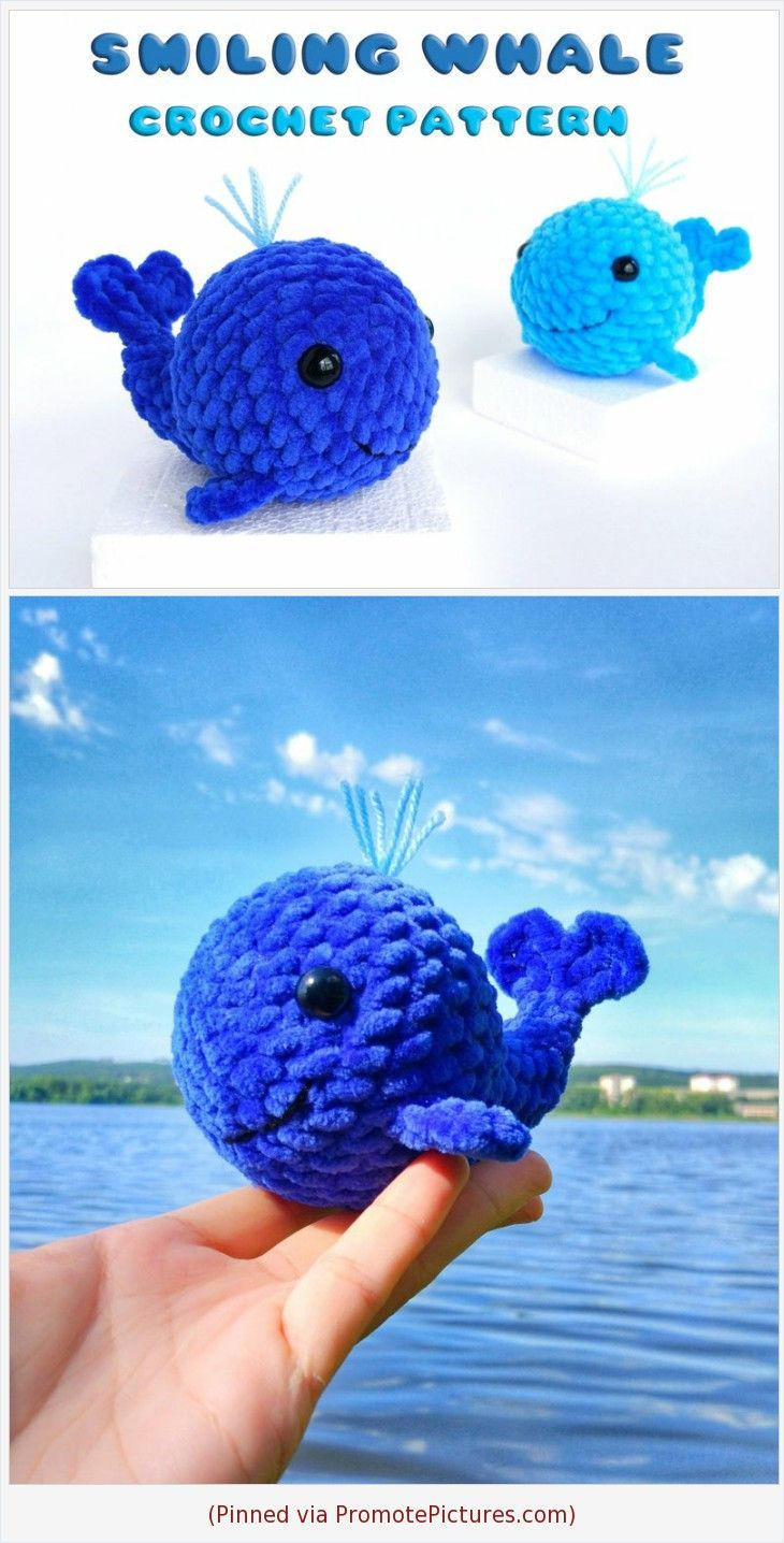 Ravelry: Mini Whale Amigurumi pattern by i crochet things | 1436x730