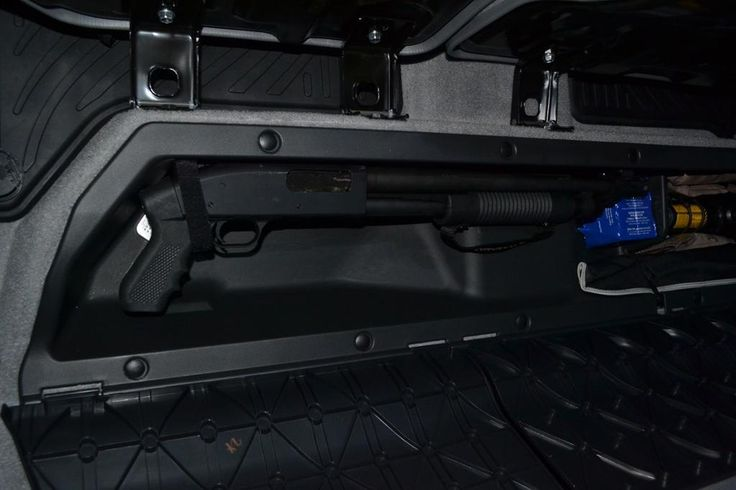 Cheap Mod Double Cab Under Seat Long Gun Storage Tacoma
