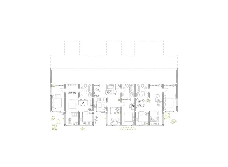 Gallery of Alvenaria Social Housing Competition Entry / fala atelier - 15