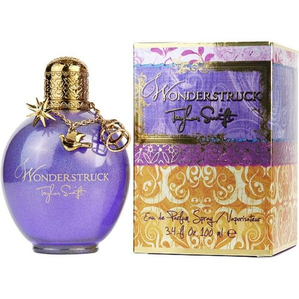 Taylor Swift Wonderstruck Taylor Swift By Taylor Swift For Women |... ($36) ❤ liked on Polyvore featuring beauty products, fragrance, flower perfume, blossom perfume and flower fragrance