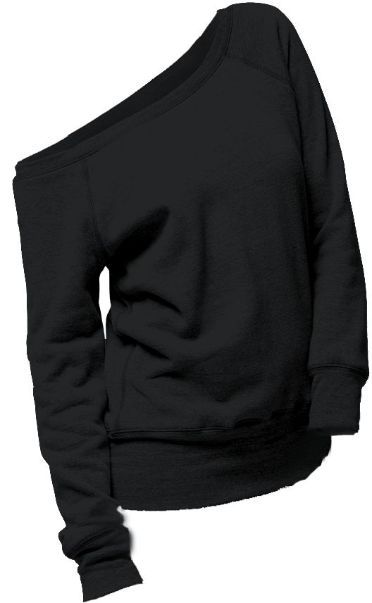 Love an off the shoulder sweatshirt... { it is quite thick and runs small.}