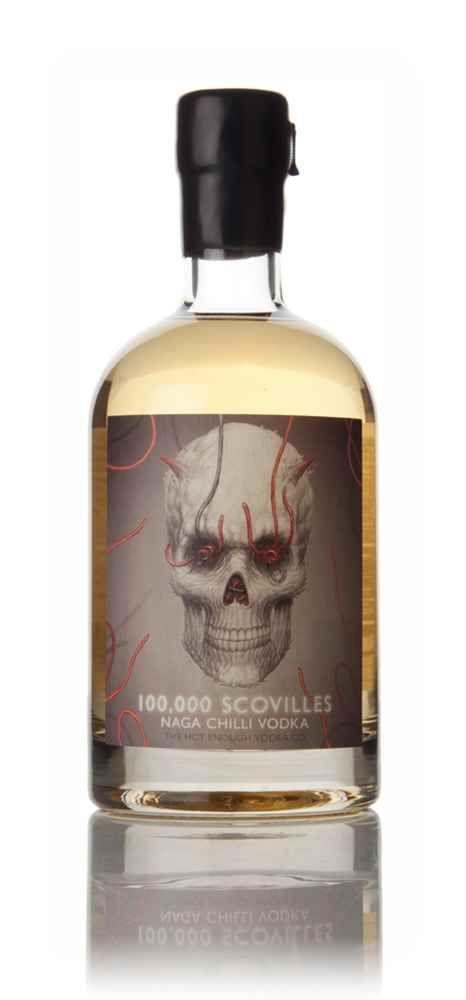 100,000 Scovilles Naga Chilli Vodka - Master of Malt