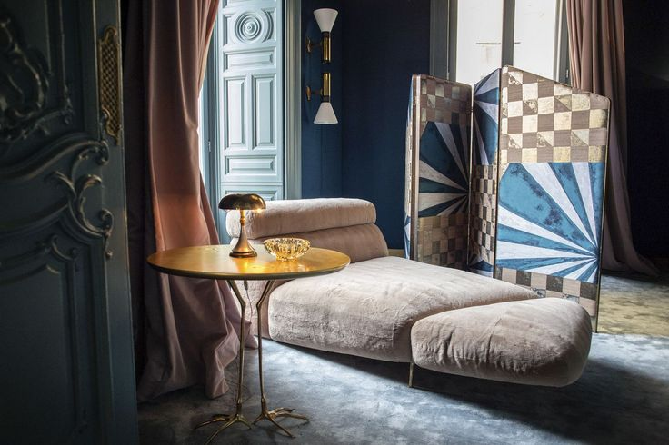 A chaise longue sits in the Palazzo Prive, a salon for top clients and VIPs at Palazzo Fendi, Fendi SpA's restored flagship store and private suites hotel in Rome, Italy, on Monday, March 7, 2016. Fendi, one of LVMH Moet Hennessy Louis Vuitton SA's 15 fashion and leather-goods brands, will officially open its 10,800 square-foot store and seven room hotel on March 10. Photographer: Alessia Pierdomenico/Bloomberg