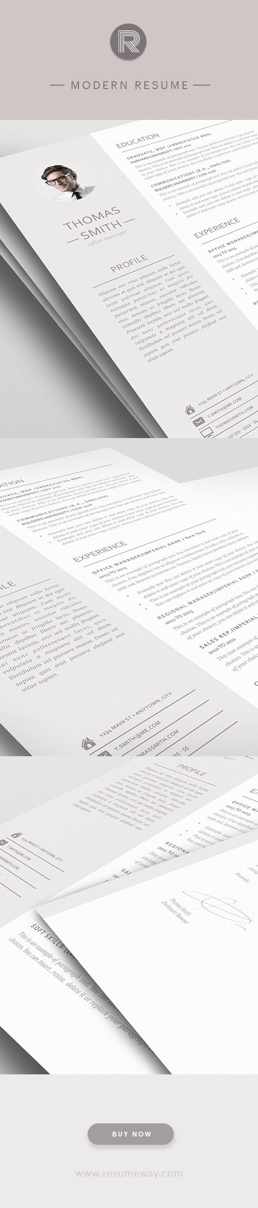 best images about modern resume templates modern resume template 110960 premium line of resume cover letter templates easy edit