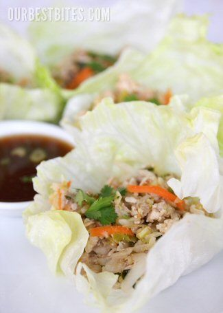 Asian Lettuce Wraps from ourbestbites.com