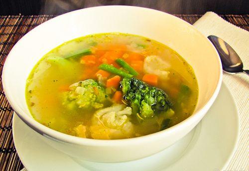 Вегетарианский суп - Лучшие кулинарные рецепты вегетарианского супа с