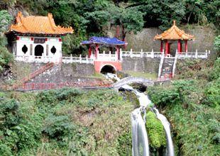 Taroko Gorge, Changchun Shrine (Eternal Spring Shrine) - Taiwan