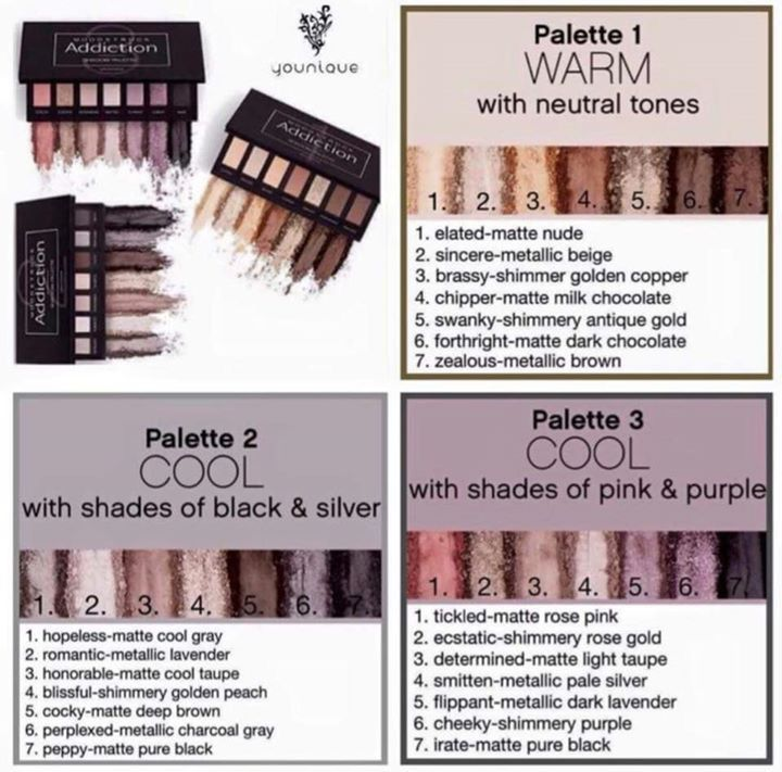 Younique Eyeshadow Palette 2 Makeup Nuovogennarino