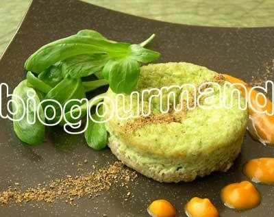Recette de fonio en timbales de poireaux, coulis courge et cannelle - Blog cuisine bio - Recettes bio Cuisine bio sans gluten