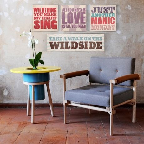 Typo Lyrical Prints - Lyric Legends on Canvas & Cushions