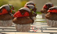 Mini muffin veg fragole e cioccolato