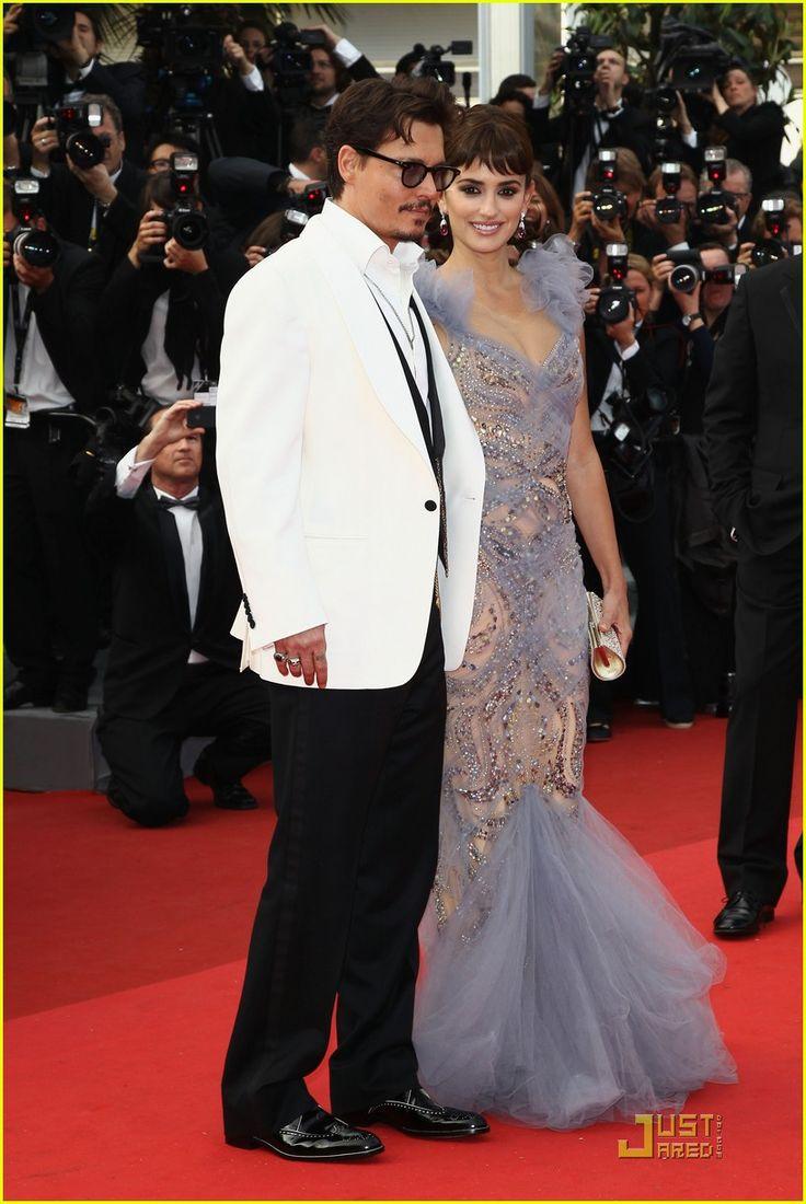 Johny Depp and Penolope Cruz at 2011 Cannes Festival