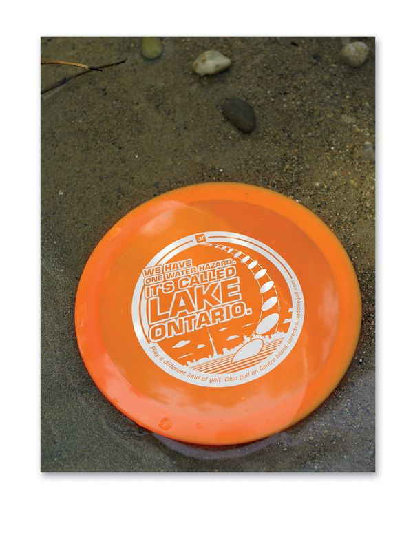 Toronto Island Disc Golf - Posters by Allen Forbes, via Behance